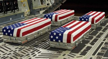 Flags-Caskets-Heros